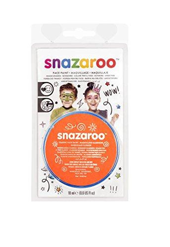 18ML ORANGE Classic Snazaroo Paint