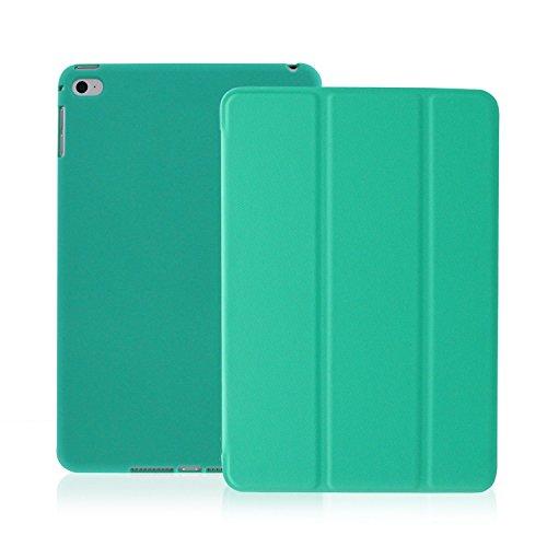KHOMO iPad Air 2 Case - Dual Series - Ultra Slim Cover with Auto Sleep Wake Feature for Apple iPad Air 2nd Generation Tablet, Twill Green (ip-air-2-dark-green-2) (Best Ipad Air Alternative)