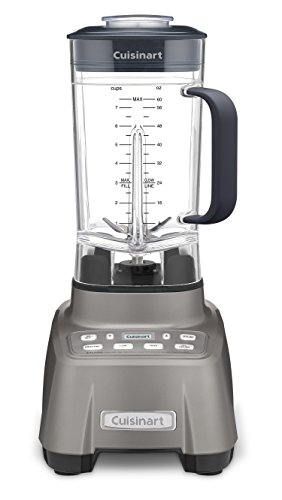 Cuisinart CBT-1500 This Hurricane Blender is revved and Ready to go. The Professional Power 2, 2.25 Peak, Gun Metal