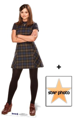 Fan Pack - Doctor Who Clara Oswin Oswald (Jenna-Louise Coleman) Lifesize Cardboard Cutout / Standee - Includes 8x10 (25x20cm) Star Photo