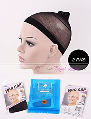 2 Pack Stocking Wig Cap 2 Pcs Per Pack