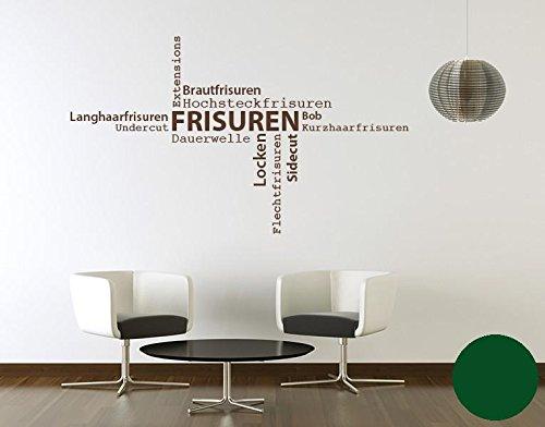 Klebefieber Wandtattoo Frisuren B x H  130cm x 76cm Farbe  Dunkelgrau B071DWKBX6 Wandtattoos & Wandbilder