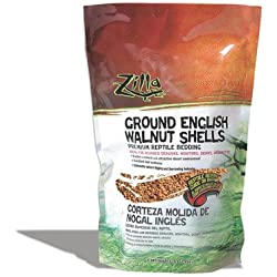 Reptile English Walnut Shell Litter [Set of 2] Size: 5 Quarts