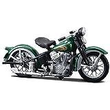 Harley Davidson EL Knucklehead (1936) Diecast Model Motorbike (1:18 scale)