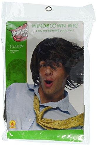 Humor Wig, Windblown (Wind Storm Costume)