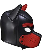 SM Sex Bondage Hood 100% Rubber Puppy Mask Sexy Cosplay Fetish Costume Slave Dog Erotic Bedroom Game Cosplay