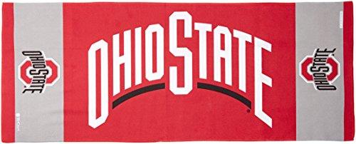 NCAA Ohio State Buckeyes Team EnduraCool Microfiber Towel, 12 x 30 - Ncaa Pool Team Floats