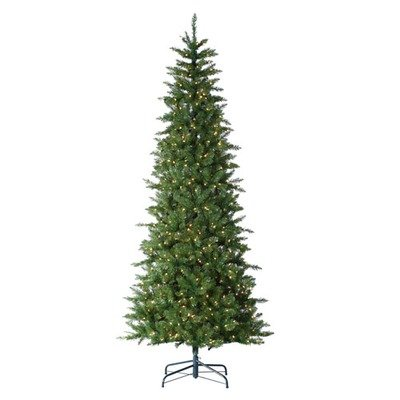 (Sterling Inc. Augusta Pine Narrow Artificial Christmas Tree Color: Clear, Size: 9' (700 Lights))