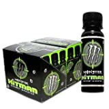 Monster Hitman Energy Drink Shooter 24 Bottles