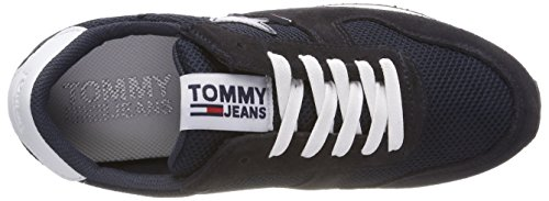 Tommy Jeans Denim 403 Bleu Basses Sneaker Hilfiger Star Sneakers Femme midnight Pw5xRppEq
