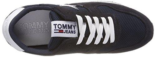 Tommy Denim Hilfiger Star Sneakers 403 Jeans Femme Sneaker Bleu midnight Basses 5SRSq1wx