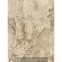 LW132600 Olympus Stone Charcoal Paper Illusions Wallpaper Torn Faux Finish Wallpaper 85 Square Feet Roll