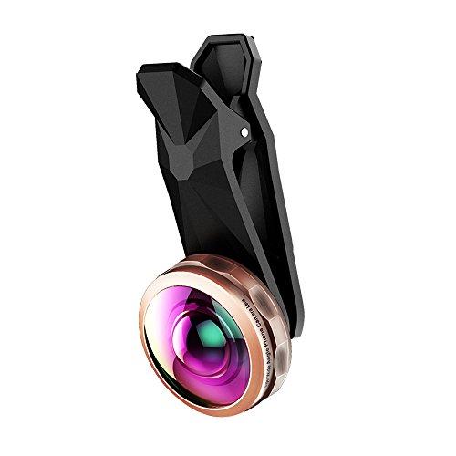 Topop 238 Grad Superweitwinkel -Objektiv Handy-Kamera-Objektiv-Set für das iPhone, Samsung, HTC, Android Smartphones usw