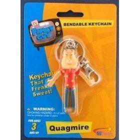 Family Guy Keychain (Family Guy Quagmire Bendable Keychain by Family Guy, Kidrobot)