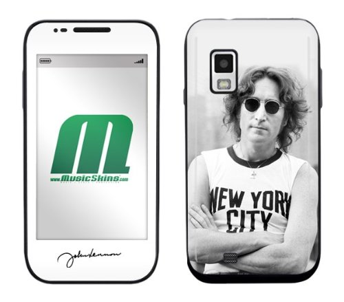 Lennon Revolution (Zing Revolution MS-JL10274 John Lennon - New York City Cell Phone Cover Skin for Samsung Fascinate Galaxy S (SCH-I500))