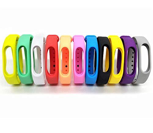 - Colorsheng 11 Pieces Colorful Replacement Bands for Go-tcha, Xiaomi Mi 2 Tracker Smart Bracelet