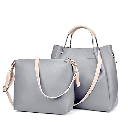 Gray Hobo Handbag - 8