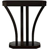 Monarch Specialties Cappuccino Hall Console Accent Table, 32