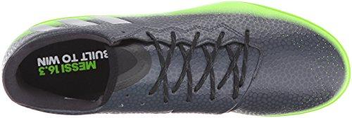 Green 3 Fãºtbol El metallic Performance Grey En Messi Silver Adidas neon Zapatos Dark De 16 6YfwxwU