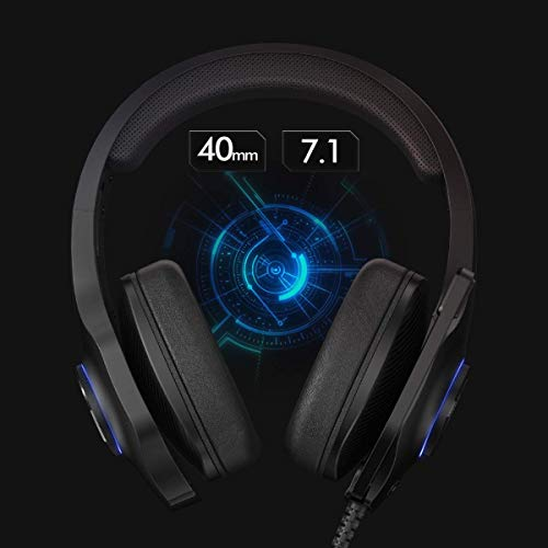 EasySMX-PS4-Headset-Headset-with-Mic-71-Surround-Sound-Noise-Reduction-Mic-On-Earcup-Control-RGB-LED-Lights-Professional-PC-Gaming-Headset-Gaming-Headphones-for-PC-PS4-Laptop