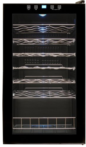 Vinotemp 34-Bottle Touch Screen Wine Cooler (34 Bottle Wine Cellar)