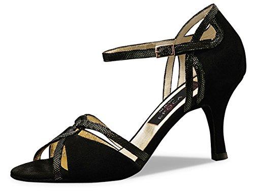 Nueva Epoca - danza scarpe Chris Tina in pelle scamosciata