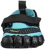 Vibram Women's V-Aqua Walking Shoe, Black/Light