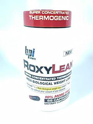 BPI Sports - RoxyLean Medi-Biological Weight Loss 510 mg. - 66 Capsules