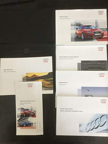 2006 Audi S4 S 4 Owners Manual