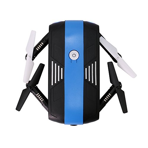 Littleice 2.4G 6-Axis Altitude Selfie Foldable Drone Hold With HD Camera WIFI FPV RC Quadcopter Selfie by Littleice