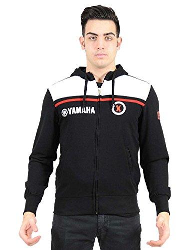 Yamaha MotoGP Team Jorge Lorenzo No 99 Mens Hoody Sweatshirt (Small) ()