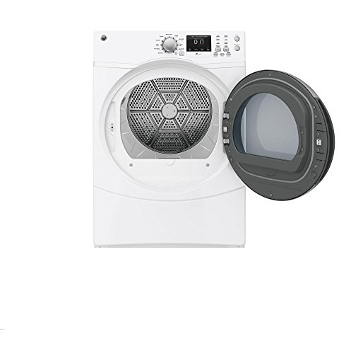GE GFDN160EJWW 27″ Electric Dryer with 7.5 cu. ft. Capacity, 10 Dry Cycles, in White Best Price