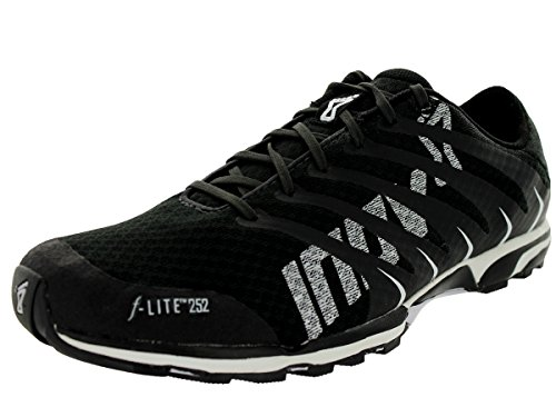 Inov-8 F-Lite 252 Cross-Training Shoe,Raven/White,8 D US by Inov-8