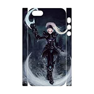 iphone 5 5s Cell Phone Case 3D League Of Legends Diana 91INA91118066