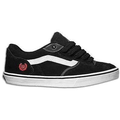 e031da9831 Vans Rowley Shambles Black High Risk Red White Shoe XR2XUZ - UK10  Amazon.co.uk   Shoes   Bags