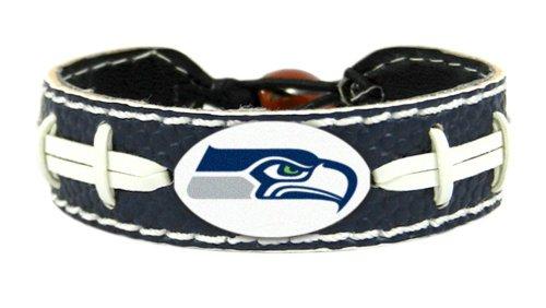 NFL Seattle Seahawks Football Bracelet, One Size, (Football Gamewear Bracelet)