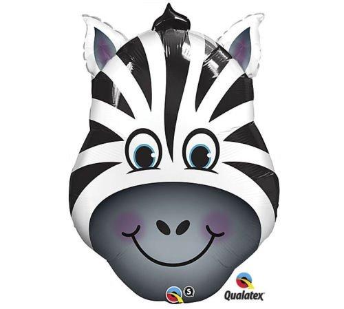NGLE Zoo Safari Black White Stripes Head Face 32