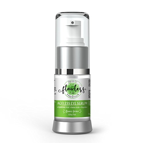 De Puffing Eye Serum - Ageless Eye Serum,For Dark Circles, Bags, Wrinkles, Swelling, Puffing, And Redness. With Hyaluronic Acid, Hydrosol, Peptides, Plant Stem Cells, Cucumber Water, And Amino Acids. Cruelty Free And Vegan.