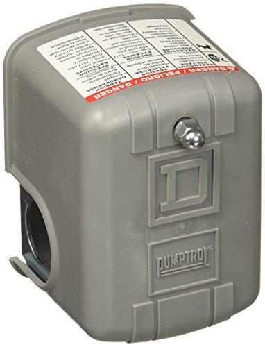 Square D 9013 FSG2 30/50 Schneider Electric FSG2J21CP 30-50 PSI Pumptrol Water Pressure Switch (Pumptrol D Pressure Square Switch)