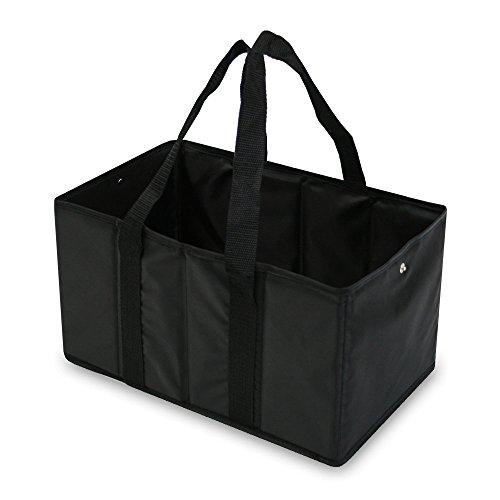 achilles®, Smart-Box, AD351bl, Einkaufstasche / Einkaufsbox im handlichen Format, schwarz, 37 cm x 20 cm x 23 cm