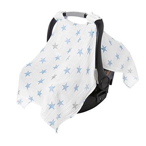 aden by aden + anais Car Seat Canopy, Dapper - Stars