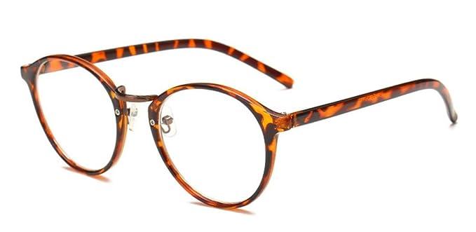 Gafas vintaje con montura de efectos cebra. Opción de otros colores y diseños.