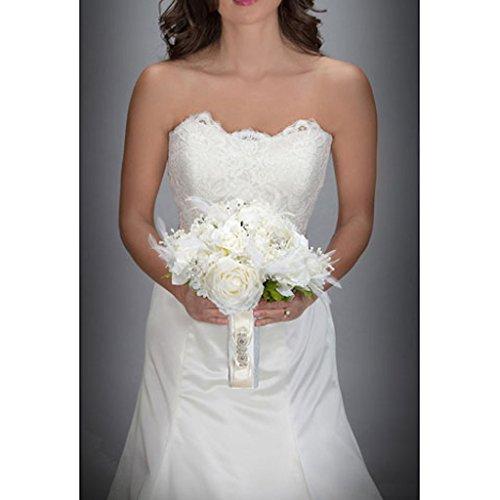 David Tutera Bouquet Wrap - Cream Pearl Bouquet Wrap