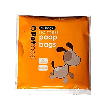 Amazon.com: Petface - Bolsas de caca para perro, 50 unidades ...