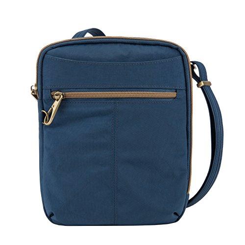 Travelon Anti-theft Signature Slim Day Bag, Ocean