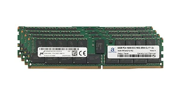 1x16GB Server Memory Upgrade Compatible for Asrock x99 Taichi with Intel Xeon CPU Only Hynix Original DDR4 2400MHZ PC4-19200 ECC Registered Chip 2Rx4 CL17 1.2v DRAM RAM Adamanta 16GB