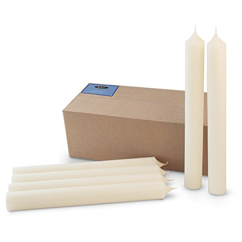Root 6 Count 51 Percent Beeswax Altar Candles, 2 by 18-Inch