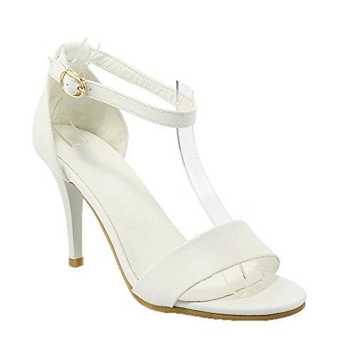 Guoar - Tira de tobillo Mujer Weiß
