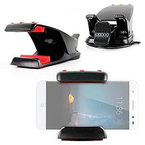 DURAGADGET Soporte Para Smartphone ZTE Grand X Max 2 / Axon 7 /Nubia Z11 Max / Blade A2 Con Potente Adhesivo Y Gamuza Incluida!