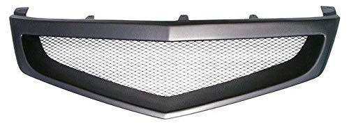 (FidgetKute Sport Mesh Grill Grille for JDM Acura TSX Honda Accord Euro R 06-08)